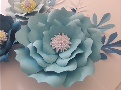 "DIY Paper ""Antonia"" Flower Tutorial"