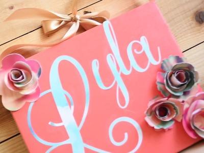 DIY Paper Flower Canvas - ONSIA SOUNDART