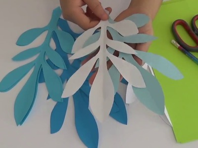 DIY Paper Leaf Tutorial