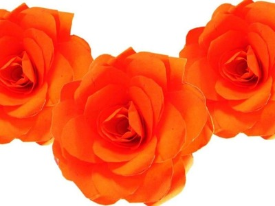 DIY Quilling Made Easy: Paper Flowers  How to Make Paper Rose with  Paper