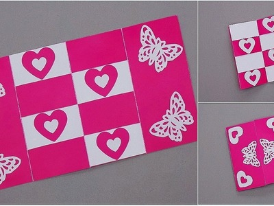 DIY - SECRET MESSAGE CARD - TUTORIAL. DIY CARDS