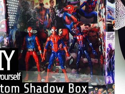 DIY: Spiderverse Shadow Box tutorial