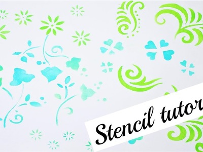 Diy stencil tutorial. How to make stencils.