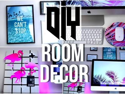 Diy Tumblr Room Decorations 2017! Diy Summer Room Decor!