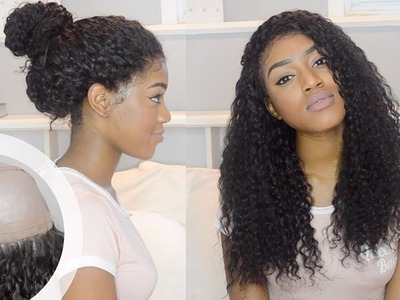 EASIEST DIY 360 LACE WIG + TINT LACE FOR BROWNIES | HAIR VIVI 360 WIG CAP | Hair Review Series pt. 1