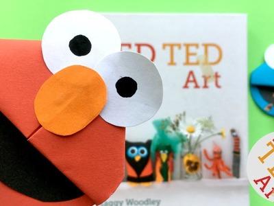 Easy Elmo Bookmark DIY - Cute Corner Bookmark DIY Ideas