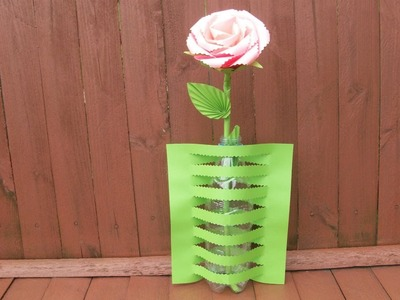 Easy Kirigami Tutorial How To Make a Paper Vase| DIY Crafts Ideas To Decor Room, Home, Class
