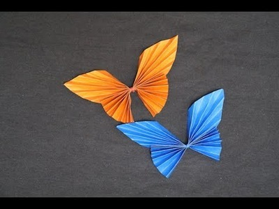 Easy Origami Butterfly Tutorial | Beautiful Paper Butterfly | Paper Crafts DIY Tutorial