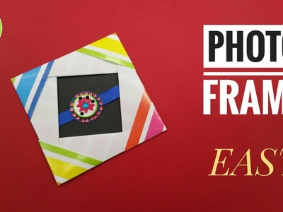 Easy Photo Frame with Rakhi holder - DIY Origami Tutorial by Paper Folds - 741