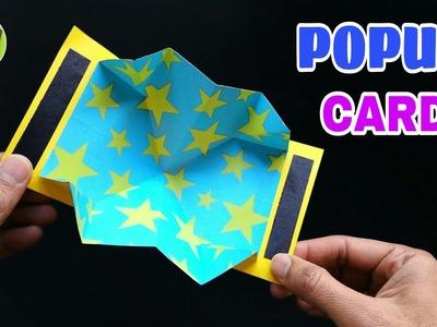 Easy POPUP Card - DIY | Scrapbook | Handmade | Tutorial - 761