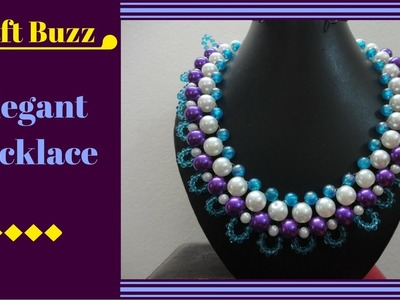 # Elegant Necklace # DIY Project # How To Make Tutorial