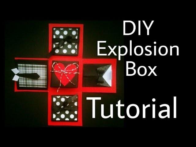 Explosion Box Tutorial | DIY | Anniversary. Valentine's Day Gift Idea
