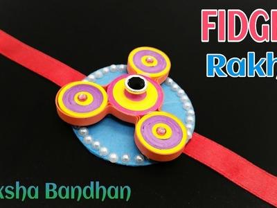 Fidget Spinner Rakhi  bracelet for Raksha Bandhan (Design 18) - राखी |DIY | Handmade | Tutorial -752