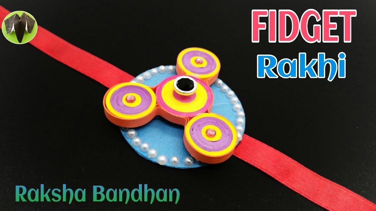 Fidget Spinner Rakhi Bracelet For Raksha Bandhan Design 18