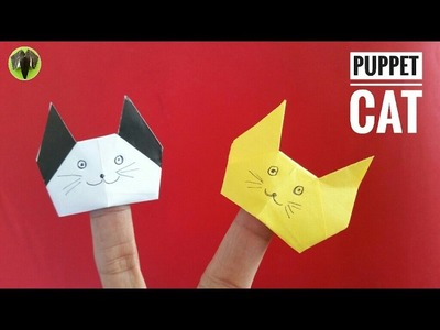 Finger Puppet Cat - DIY Origami Tutorial by Paper Folds - 747