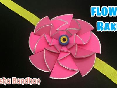 Flower Rakhi for Raksha Bandhan (Design 19) - राखी   DIY   Handmade   Tutorial - 757
