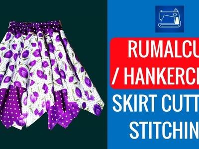 Handkerchief Skirt Pattern Tutorial Full Cutting and Stitching DIY