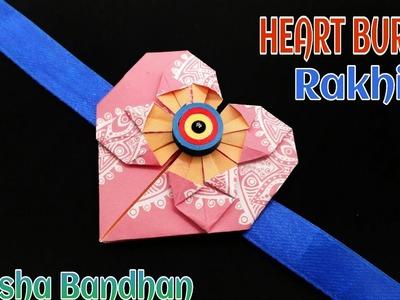 Heart Burst Rakhi for Raksha Bandhan (Design 27) - राखी  DIY   Handmade   Tutorial   Origami - 769