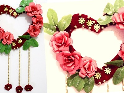 Heart Wall Hanging Craft ideas | Heart Decorations for Home - Crafts  for teenagers! Wall decoration