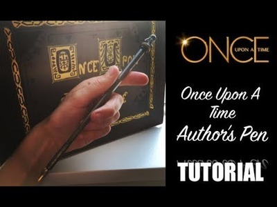 Henry's Author Pen Tutorial - EASY ONCE DIY - Once Upon A Time COSPLAY