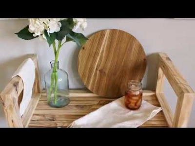 How to Build a DIY Bar Cart from One Board #2x4andMore