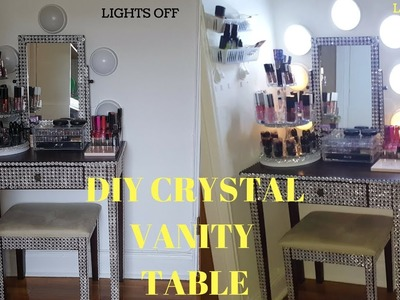 HOW TO:  DIY VANITY TABLE.MAKEUP TABLE