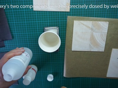 How to make a carbon fiber core balsa panel - tutorial - DIY