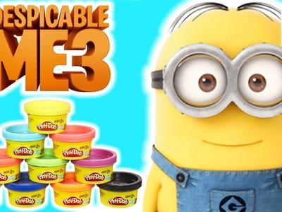 How To Make A Small Minion From Play Doh | Craft Learning For Kids |  Despicable Me 3 ???? Crafty Kids
