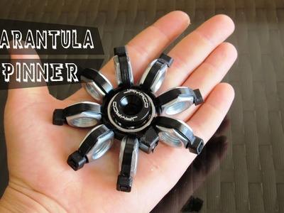 """How to make a """"Tarantula"""" Fidget Spinner tutorial - DIY hex nut spinner"""