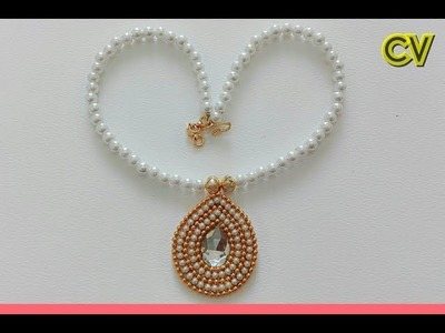 How To Make Bridal Necklace. Designer Necklace Tutorial. DIY. Chokar