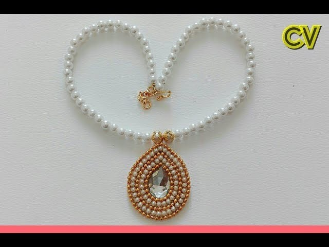 How To Make Bridal Necklace. Designer Necklace Tutorial. DIY. Chokar