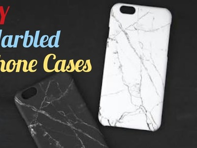 How to make Marbled Phone Case | Simple Steps | DIY |