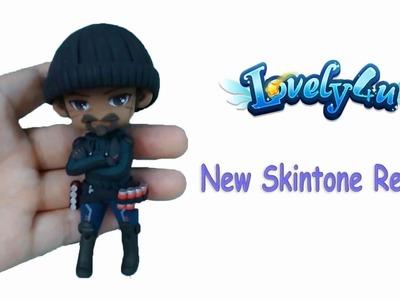 Lovely4u | VO20 |New Overwatch Reaper Skintone |DIY| Clay Figure Tutorial
