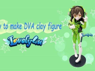 Lovely4u | VO21 | 9 Minute Overwatch DVA | DIY| Clay Figure Tutorial