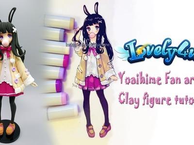 Lovely4u | VO9 | Yoaihime Fan art | DIY| Creative Clay Figure Tutorial