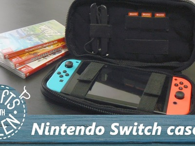 Making a Nintendo Switch Case   DIY Tutorial