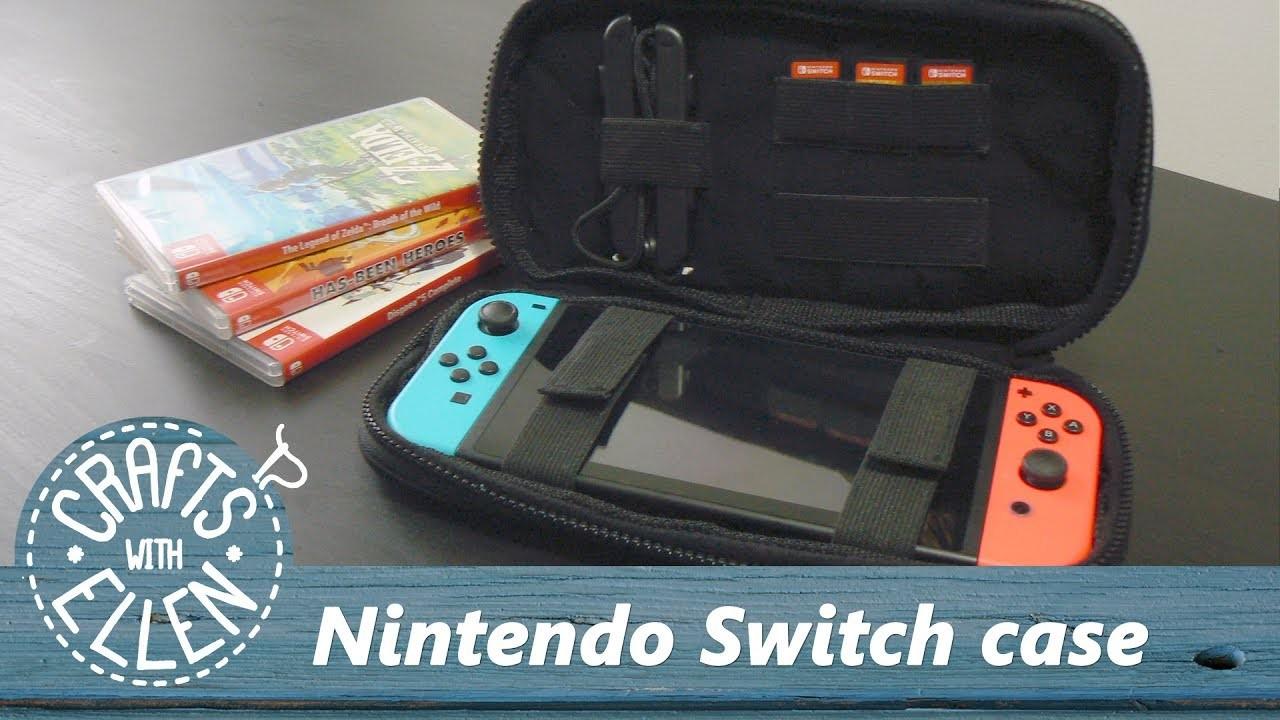 Making a Nintendo Switch Case | DIY Tutorial