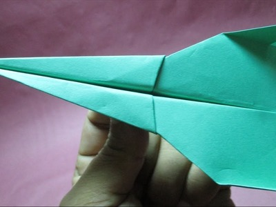 Paper Airplane:How to make paper Airplane?Origami Airplane2.DIY paper craft instruction step by step