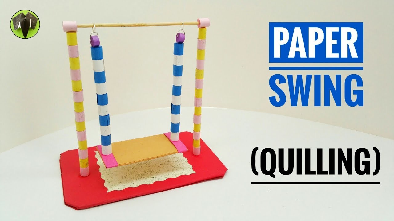 Paper Swing   - DIY Quilling Tutorial by Paper Folds - 730