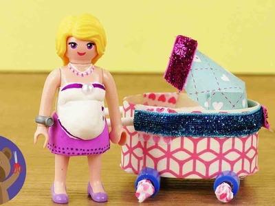 Playmobil Stroller DIY - make Stroller for Playmobil Next Topmodel Romy!