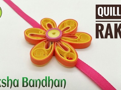 Quilling Flower Rakhi for Raksha Bandhan(Design 13) - DIY Tutorial by Paper Folds - 738