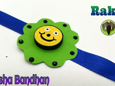 Smiley Rakhi Bracelet for Raksha Bandhan (Design - 14) - DiY Quilling Tutorial by Paper Folds - 743