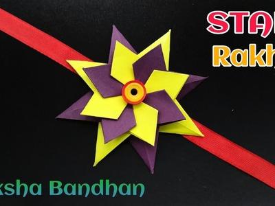 Star Rakhi for Raksha Bandhan (Design - 24) - राखी | DIY | Handmade | Tutorial | Origami - 766