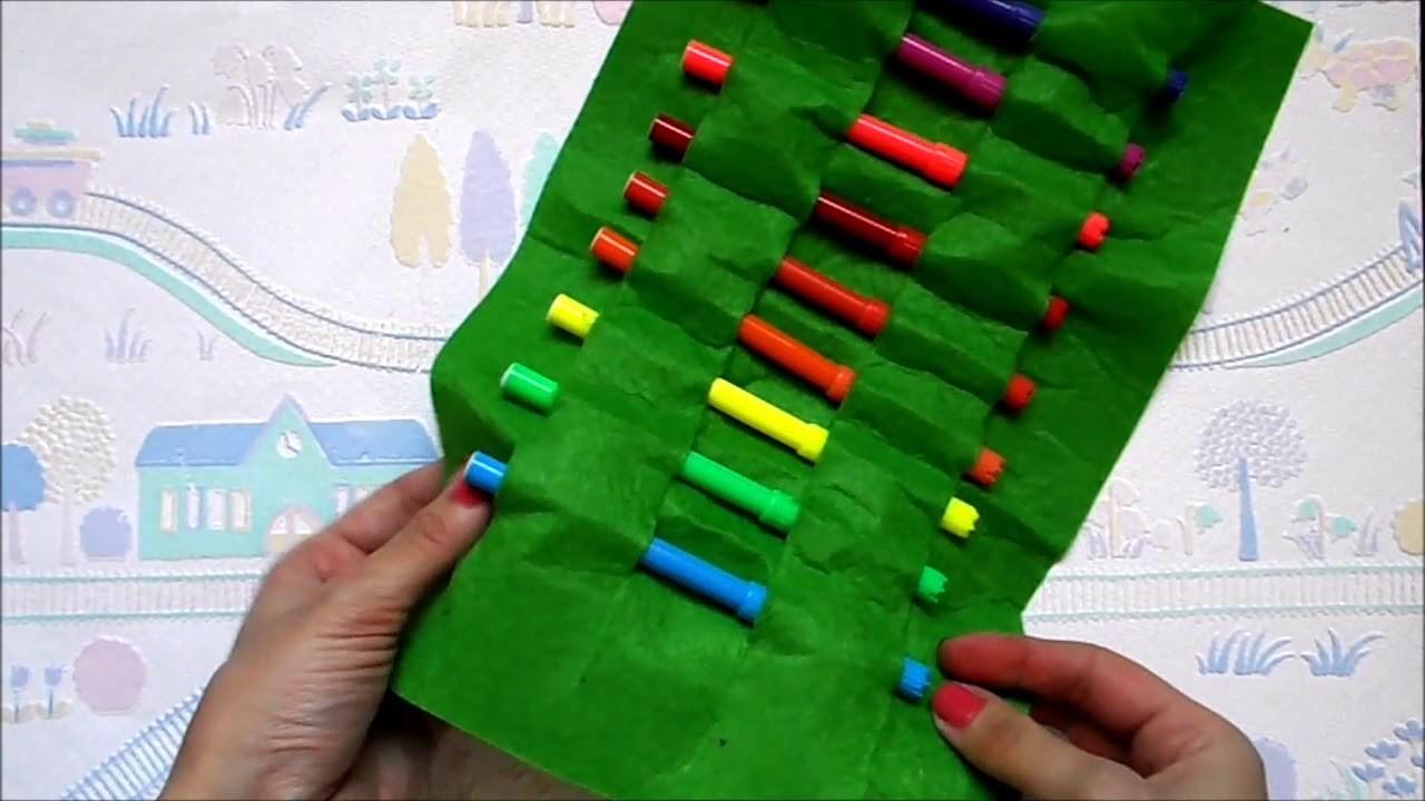 TUTORIAL: DIY Roll up pencil case | NO SEW | Back to school supplies | Maison Zizou