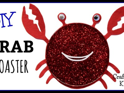 Whimsical Crab Coaster DIY ~ Another Coaster Friday ~ Craft Klatch