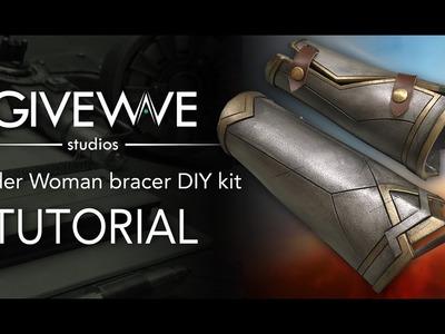 Wonder Woman bracer DIY Kit ( TUTORIAL )