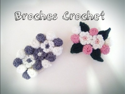 - BROCHES DE CROCHET- TUTORIAL