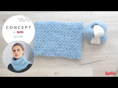 Cowl Project: How to crochet Jasmine Stitch