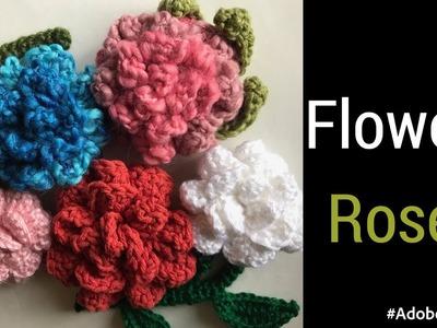 Crochet Flower - How to Make a Crochet Rose