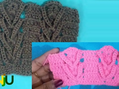 Crochet pattern for gents sweater and ladies cardigan.